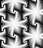 Seamless Monochrome Polygonal Geometrical Pattern Gently Shimmering from Light to Dark Tones  create the illusion of depth Royalty Free Stock Photography