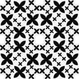 Seamless Monochrome seamless pattern, geometric vector texture, smooth vector illustration