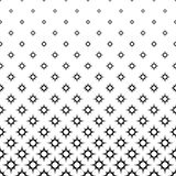 Seamless monochrome star pattern Royalty Free Stock Photography