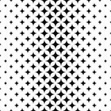 Seamless monochrome vector star pattern. Design background Royalty Free Stock Images