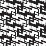 Seamless Monochrome Wallpaper Stock Photo
