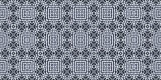 Seamless monohrome pattern. Patchwork texture. Mosaic. Stock Photo
