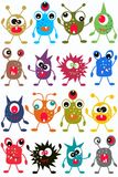 Seamless monster pattern Stock Photo