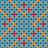 Seamless moorish vector pattern Royalty Free Stock Photos
