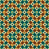 Seamless moorish vector pattern Stock Photos