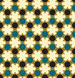 Seamless moroccan background. Vector pattern. Stock Photos