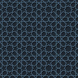 Seamless moroccan mosaic Royalty Free Stock Images