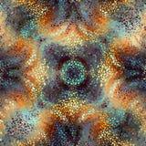 Seamless mosaic art pattern vector illustration