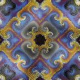 Seamless mosaic art tile Stock Images
