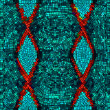 Seamless mosaic background Royalty Free Stock Photo