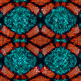 Seamless mosaic background Royalty Free Stock Images
