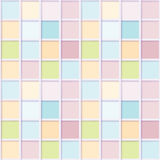 Seamless mosaic from colorful squares Stock Photography