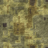 Seamless mosaic concrete pavement Royalty Free Stock Images