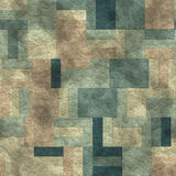 Seamless mosaic concrete pavement Stock Image