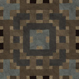 Seamless mosaic concrete pavement Royalty Free Stock Image