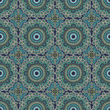 Seamless  in Mosaic Ethnic Style. Stock Photos