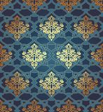 Seamless  in Mosaic Ethnic Style. Stock Images