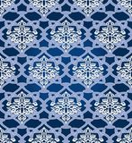 Seamless  in Mosaic Ethnic Style. Royalty Free Stock Image