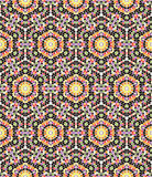 Seamless mosaic kaleidoscopic pattern Royalty Free Stock Photo