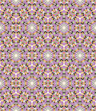 Seamless mosaic kaleidoscopic pattern Stock Photography