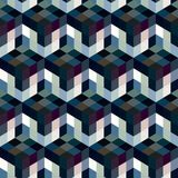 Seamless mosaic pattern Royalty Free Stock Photos