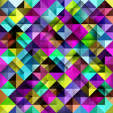 Seamless mosaic pattern. Stock Images