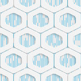 Seamless Mosaic Pattern. Abstract 3d Realistic Background. Modern Fine Wallpaper. White Fashion Design Royalty Free Stock Photos