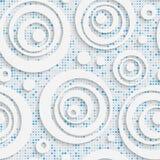 Seamless Mosaic Pattern. Royalty Free Stock Photography