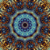 Seamless mosaic pattern Stock Photo