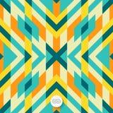 Seamless mosaic pattern. Geometric background Stock Photos