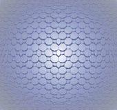 Seamless mosaic pattern gray blue convex Stock Photo