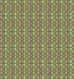 Seamless mosaic pattern green purple Stock Photos