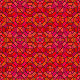 Seamless mosaic pattern in octagon concept Stock Images