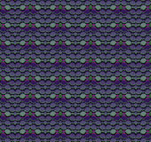 Seamless mosaic pattern purple green Stock Photo