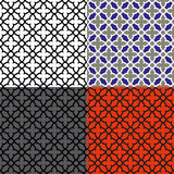 Seamless mosaic pattern stock photography