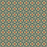 Seamless mosaic pattern in retro style Stock Images