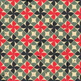 Seamless mosaic pattern with scratched grungy texture, vector de Stock Photo
