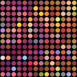 Seamless mosaic pattern_5. Vector background from a banner or for the realization of your other design ideas Royalty Free Stock Images