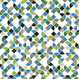 Seamless mosaic pattern, vector design. Stock Photography