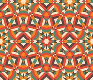 Seamless mosaic pattern. Royalty Free Stock Photo