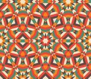 Seamless mosaic pattern. Vector illustration EPS 10 Royalty Free Stock Photo