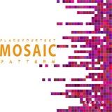 seamless mosaikmodell Arkivbild
