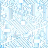 Seamless motherboard pattern Royalty Free Stock Image