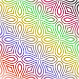 Seamless  multi colour  pattern stock photography