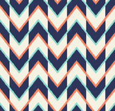 Seamless multicolor arrow pattern Stock Photography