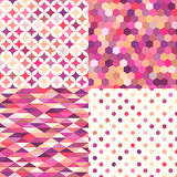 Seamless multicolor geometric tiles pattern. Seamless multicolor geometric tiles background pattern Royalty Free Stock Images