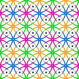 Seamless multicolor pattern. Stock Photo