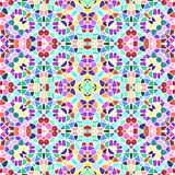 Seamless multicolor pattern kaleidoscope, texture caleidoscope with many color vector illustration