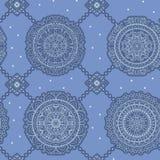 Hippie mandala pattern Stock Image