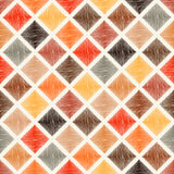 Seamless multicolor rhombus tiles pattern Stock Photos